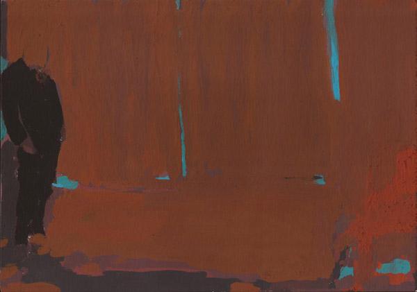 "Tatiana Blass, John Gabriel Borkman #5 (Ibsen serie), 2014Gouache on paper, 21 x 30 cm (8 ¼"" x 11 ¾"")"