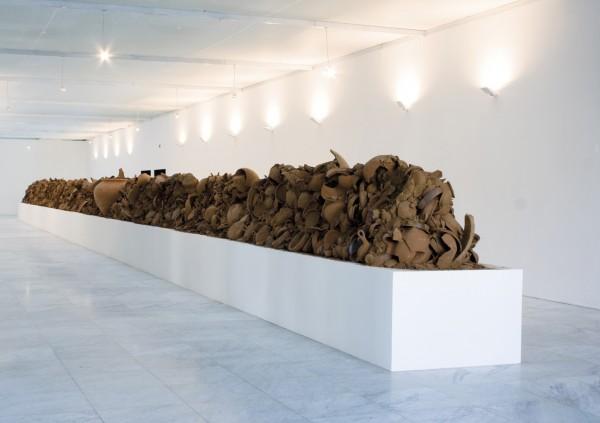 Cristóbal Lehyt, El Penúltimo Paisaje, 2009 Installation view, Sala de Arte Fundación Telefónica, Santiago