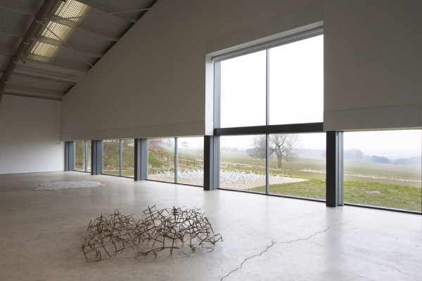 Garth Evans,  Installation view, Arts Council Exhibition, 2013,  Longside Gallery, Yorkshire Sculpture Park
