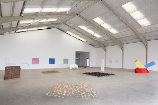 Garth Evans, Installation view, Arts Council Exhibition, 2013Longside Gallery, Yorkshire Sculpture Park