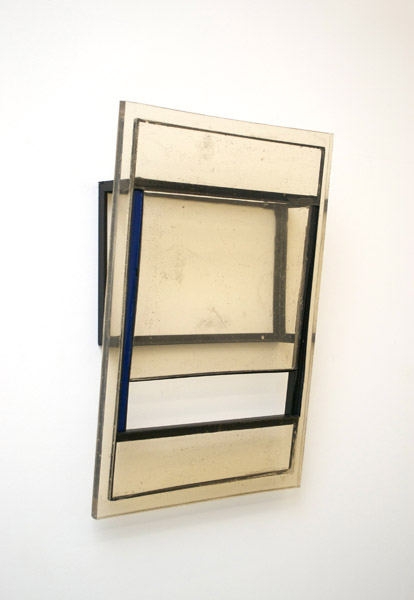 Jesse A. Greenberg, Newspaper, 2013 Urethane plastic, pigment, steel, spray-paint 30 x 20 x 6 in