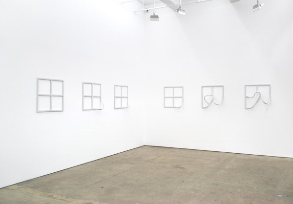 Garth Evans, Installation view, FramesJohannes Vogt Gallery, Sept. 12 - Oct. 10, 2013