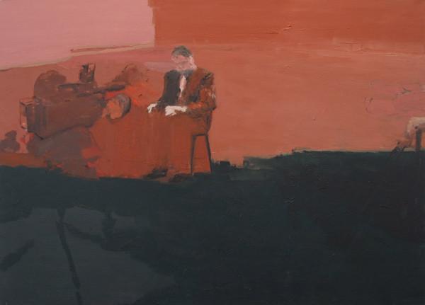 """Tatiana Blass, Interview #1, 2013Oil on canvas, 130 x 180 cm (51 x 71"""")"""
