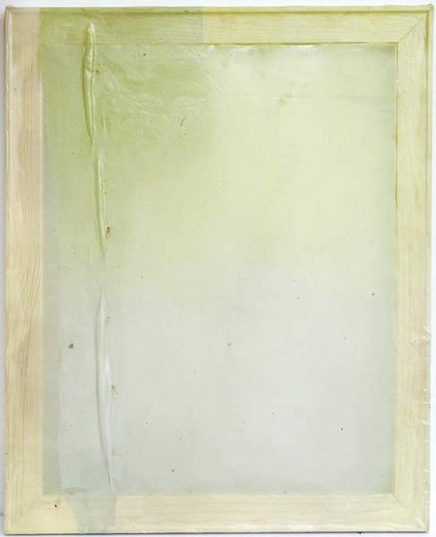 Lauren Luloff,  Soft Fade, 2014 Oil on fabric,  22 x 18 inches (55.88 x 45.72 cm)