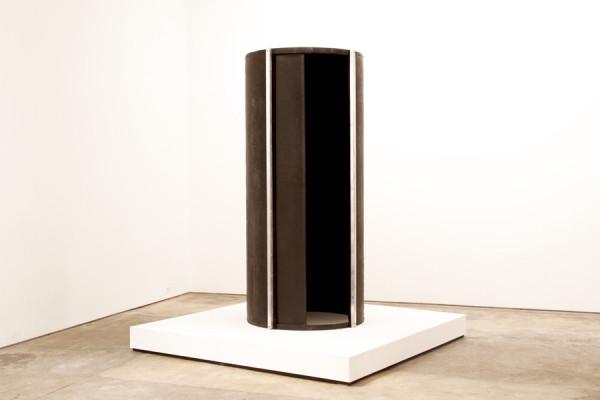 Matthew Schreiber, Dark Tumbler, 201490 x 72 x 72 inches (228.60 x 182.88 x 182.88 cm)