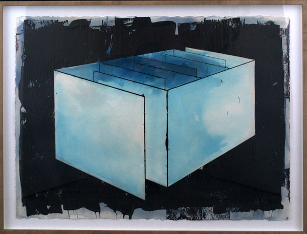 Rectangular Light Lock, 2014 26 x 34 inches (66.04 x 86.36 cm)