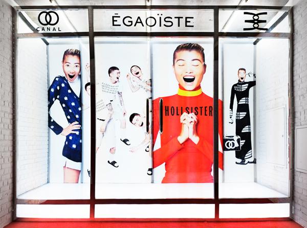 Cyril Duval, Shanzhai Biennial (Cyril Duval, Avena Gallagher, Babak Radboy)SHANZHAI BIENNIAL, store #1, 2012Inverted pop-up store & red carpet ceremonySite specific. 400 cm x 400 cm x 100 cm