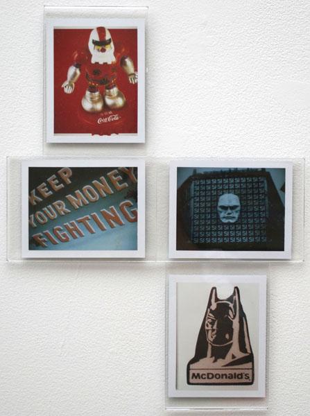 Cyril Duval, Helixes #4, 2014  Polaroids
