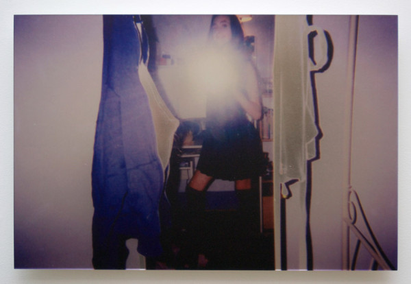 Ann Hirsch, Photos for Jobe #2 1998, 2013  Archival inkjet print on mirror 18 x 24 inches (45.72 x 60.96 cm)