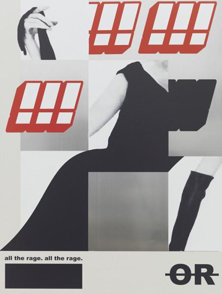 Alex Ito, All The Rage, 2015 UV digital printed aluminum, 24 x 18 inches (60.96 x 45.72 cm)