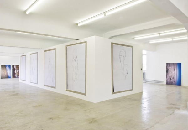 Cristóbal Lehyt, Dramaprojektion, 2008 Installation view, Künstlerhaus Stuttgart, Stuttgart