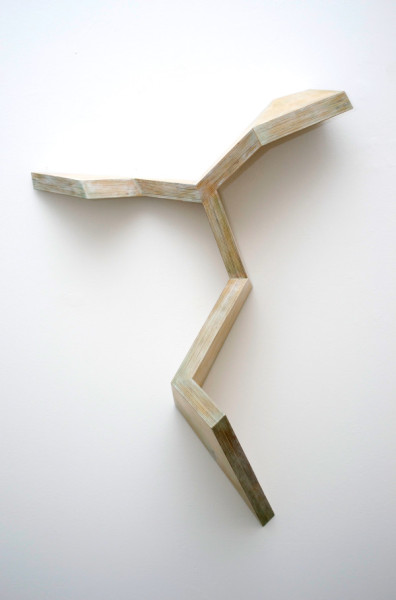 Canal No. 32, 1982Plywood, 37 x 25 x 11 inches (93.98 x 63.50 x 27.94 cm)