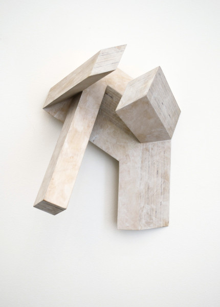 Canal No. 20, 1982Plywood, 14 x 11 x 9 inches (35.56 x 27.94 x 22.86 cm)