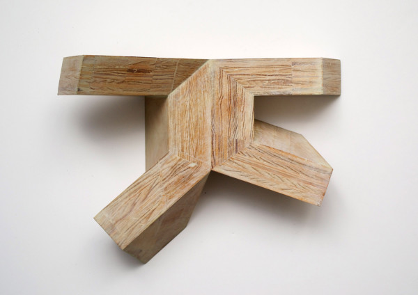 Canal No. 12, 1982Plywood, 8.5 x 11.5 x 5 inches (21.59 x 29.21 x 12.70 cm)