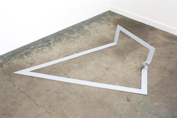 Frame, 1972Steel, paint, 15 x 47 x 73 inches (38.10 x 119.38 x 185.42 cm)