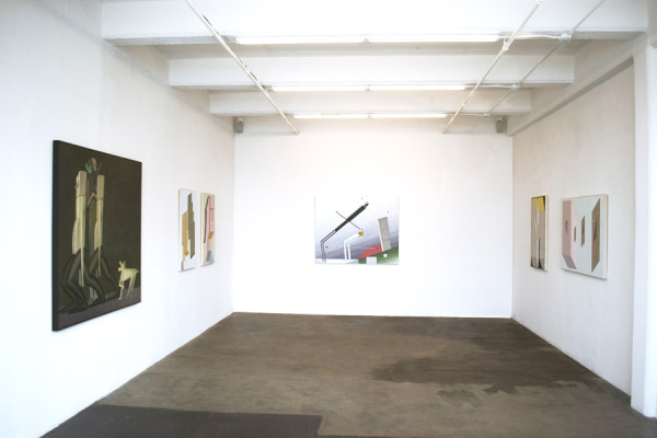 Installation view of Chapter 1: HEADS AND BODIES Vogt Gallery