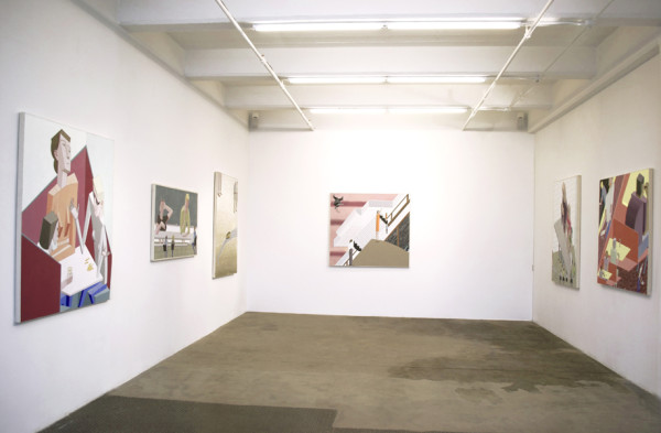 Installation view of Chapter 2: PLACES Vogt Gallery
