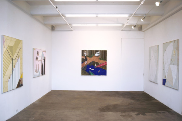 Installation view of Chapter 3: Narratives Vogt Gallery