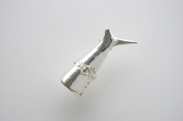 Travis Boyer, Tequila Neti Pots, 2012Sterling Silver, 12 x 5 inches (30.48 x 12.70 cm)