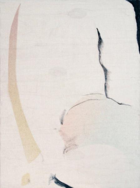 Travis Boyer, , Cat that lets anyone pet it, 2012Silk velvet dye on panel, 23.5 x 17.5 inches (59.69 x 44.45 cm)