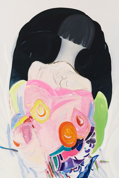 Tamara K.E,  Untitled, 2012 Oil on canvas, 94 x 74 inches