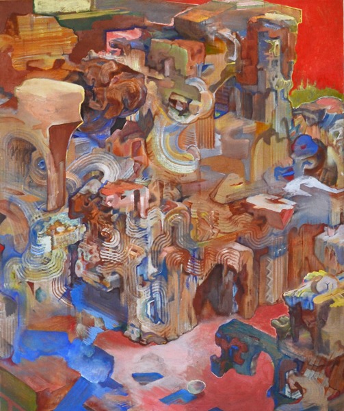 David Brody,  I am the Eggman (#14), 2009-2011 Oil on linen 60 x 50 inches
