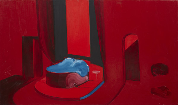 Nicole Wittenberg, Untitled, 2010 Oil on canvas 25 x 42 inches