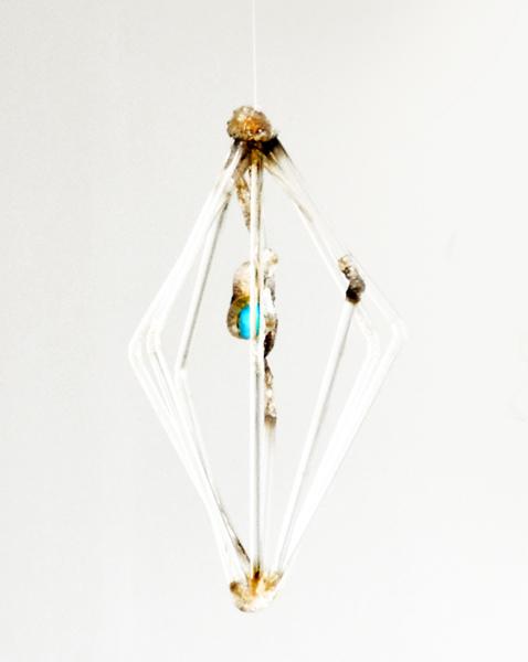 Cristóbal Lehyt, Untitled, 2010 Acrylics, resins, Brazilian semi-precious stones