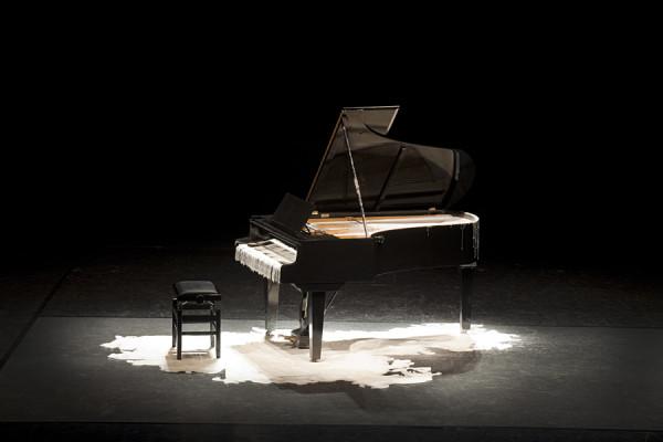 Tatiana Blass  Half of the Speech on the Ground_Deaf Piano, 2010