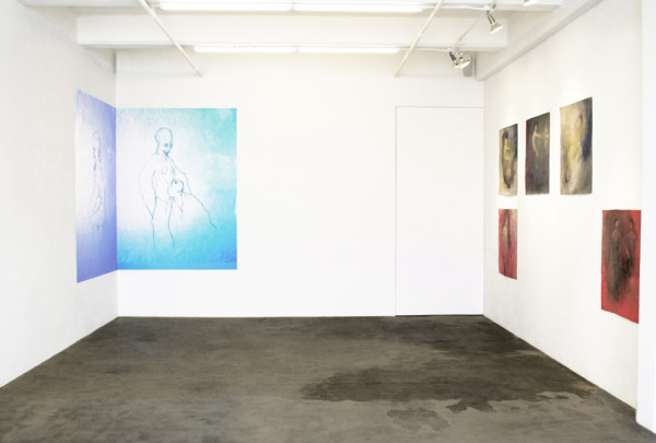 Cristóbal Lehyt, Eat Your Emblem, Installation View Johannes Vogt Gallery, March 9 - April 21, 2012