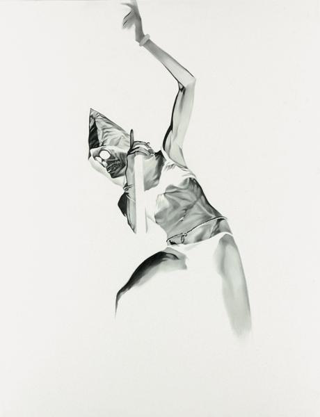 Marc Brandenburg, Untitled, 2010  Graphite on paper, 24 x 18 ½ inches