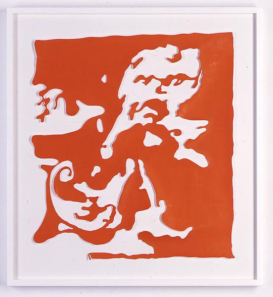 Ulla von Brandenburg, o.T., 2010 Paper cutout, 21 1/4 x 18 1/2 inches