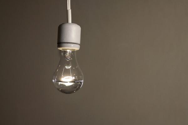 Pablo Guardiola,  untitled(water, lightbulb, electricity), 2009 C-print,  28 x 60 cm