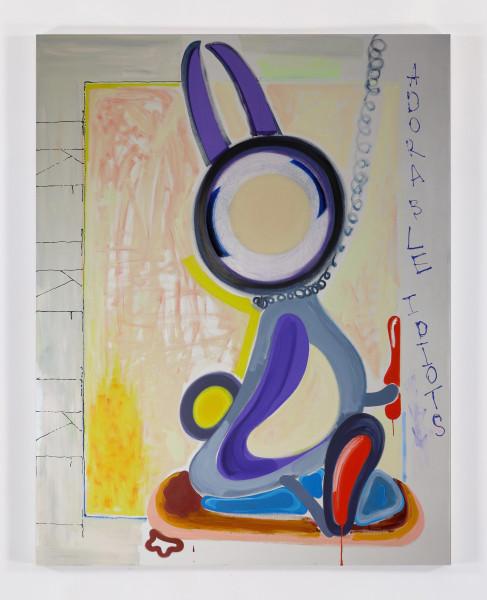 Tamara K.E., Untitled,  2015 Oil on canvas, 72 x 56 inches (182.88 x 142.24 cm)