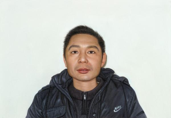 "Benjamin Hugard, The Vasari Corridor (fang yan fei), 2013Oil on canvas,24 x 35 cm (9 ½"" x 13 ¾"")"