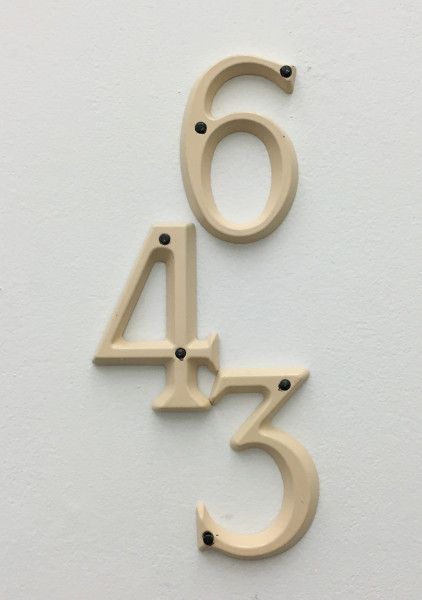Samuel François, Six Moles (643 Version N°3), 2010-2015, Dimensions variable