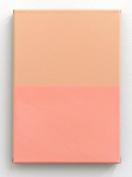 "Samuel François, Light Portrait Pink And More (V1), , 2015 Acrylic on canvas, 29 x 20 cm (11 ⅜"" x 7 ⅞"")"