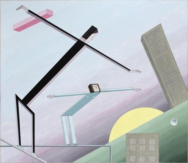 Mernet Larsen, Dawn, 2012Acrylic on canvas, 49.5 x 58 inches