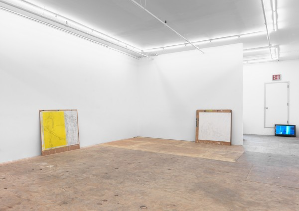 Cristóbal Lehyt, Given a Wall, What's Happening Behind it?, Installation view, Johannes Vogt Gallery, 2016