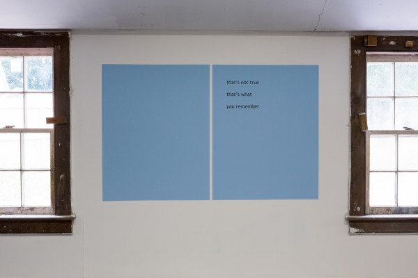 Rafael Rozendael, RR Haiku 038, 2013Color variable, Dimensions variable