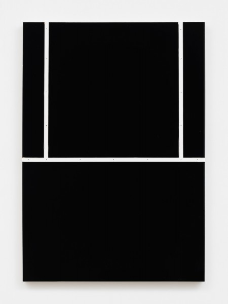 Ricardo Alcaide, Down the line #6, 2016  High gloss industrial paint on MDF board, 47 x 33 inches (119.38 x 83.82 cm)