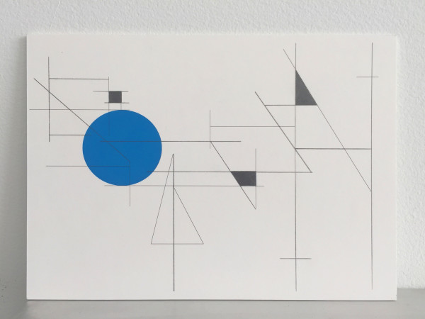 Study for musical notations BO, 2015  Graphite, archival pigment, aluminum