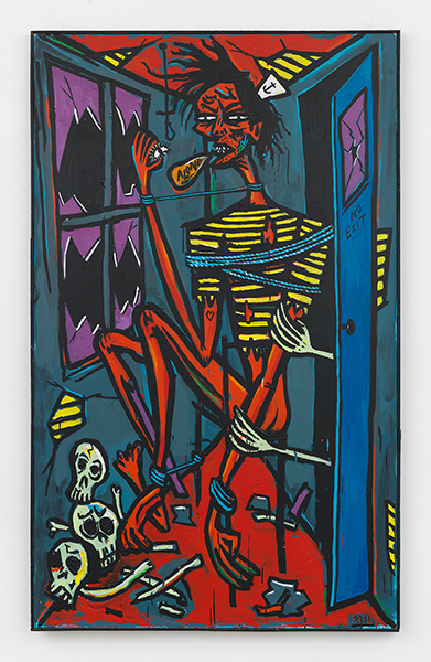 Rick ProlNo Exit, 1984Acrylic on canvas, 72.5 x 45 in.
