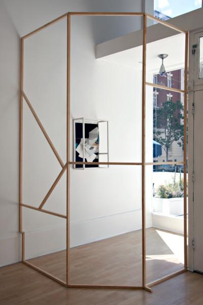 Florian Schmidt, Haute, Installation View  Jessica Silverman Gallery, 2011