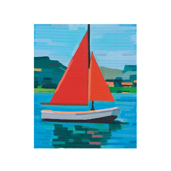 Guy Yanai, Boat With No Sailors, 2015, Archival pigment print, 22 × 18 in (55.9 × 45.7 cm)