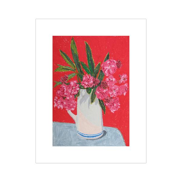 Holly Coulis, Pink Flowers, 2014, Archival pigment print, 17 × 13 in (43.2 × 33 cm)